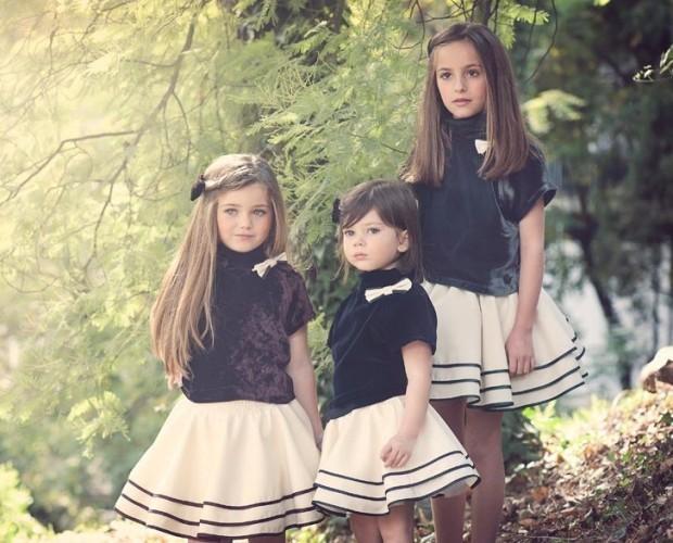 Abbigliamento per bambine. Prezioso ed elegante