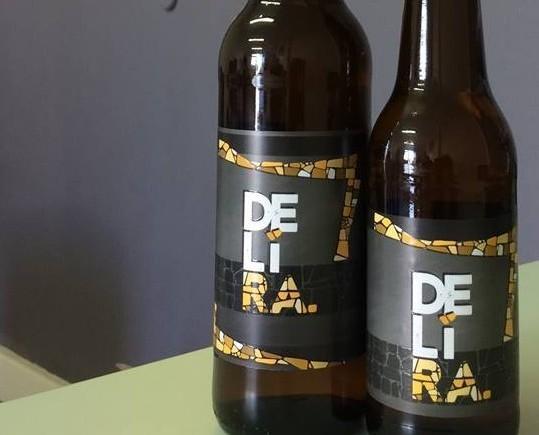 Birra in bottiglia. Produzione artigianale