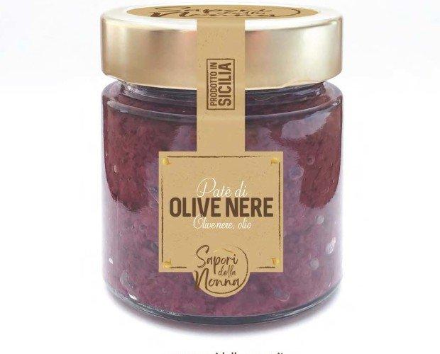 Patè. Olive nere