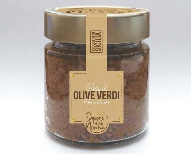 Patè. Olive verdi