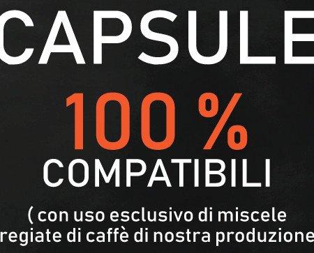 CAPSULE COMPATIBILI. PRODUCIAMO , CON IL NOSTRO CAFFÈ' TUTTE LE CAPSULE PER LE VOSTRE MACCHINETTE