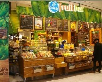 Chiquita fruit bar. Il nuovo concept con prodotti alla frutta.