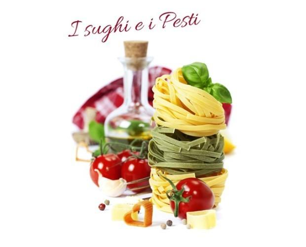Salse per cucinare.Prodotti della tradizione italiana.