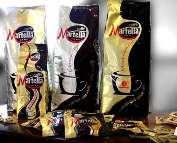 . Assortimento di miscele in grani Caffè Martella