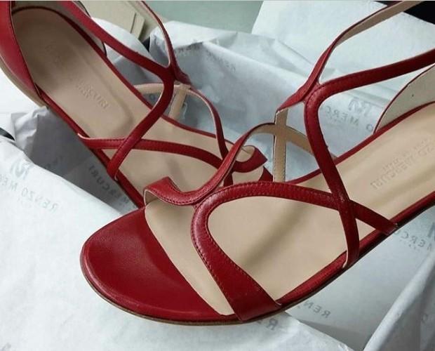 Calzature femminili. Sandali della collezione estiva 2016