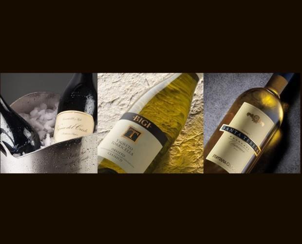 Vino. Vino Bianco. Dalle note case vinicole del Gruppo