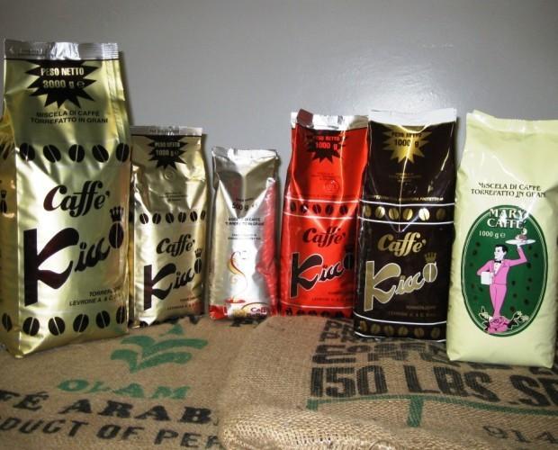 . Assortimento in grani Caffè Kicco