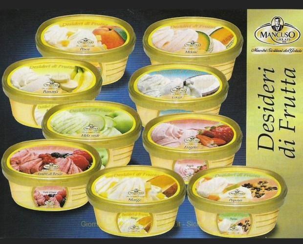 . Assortimento gelati alla frutta Mancuso