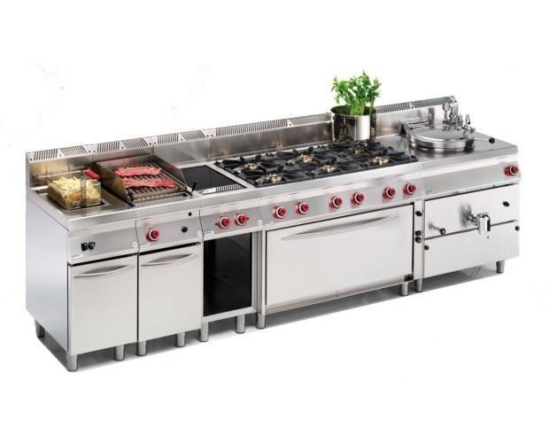 Cucina Professionale. Stile 700 - composizione