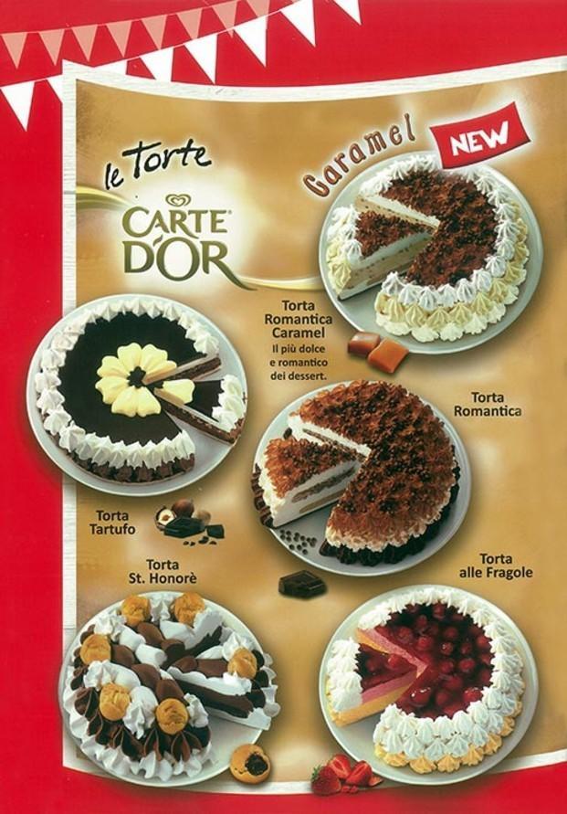 Torte.Le torte di Carte d'Or