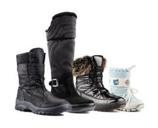 Scarpe e doposci. Calzature invernali.