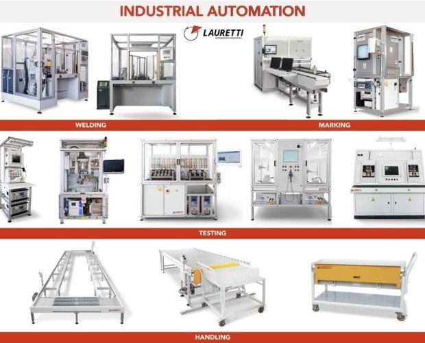 Macchine automatiche. Manufacturing machines: produzione e test