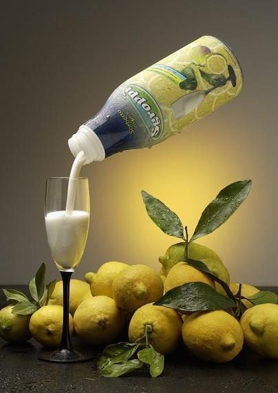 Adriagel. Sorbetti al gusto limone