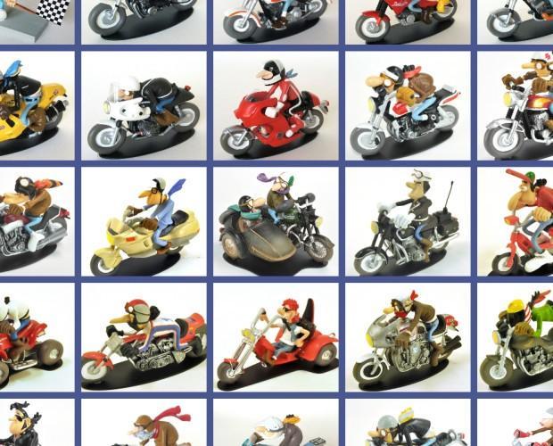 Poster. Motociclette giocattolo