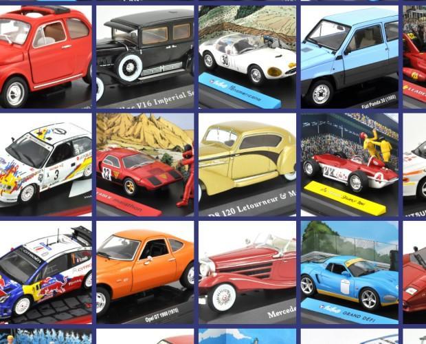 Modellini auto. Differenti modelli auto giocattolo anche da collezione