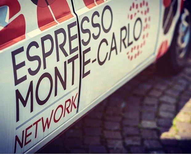 Espresso Monte-Carlo. Mascotte Espresso Monte-Carlo Network.