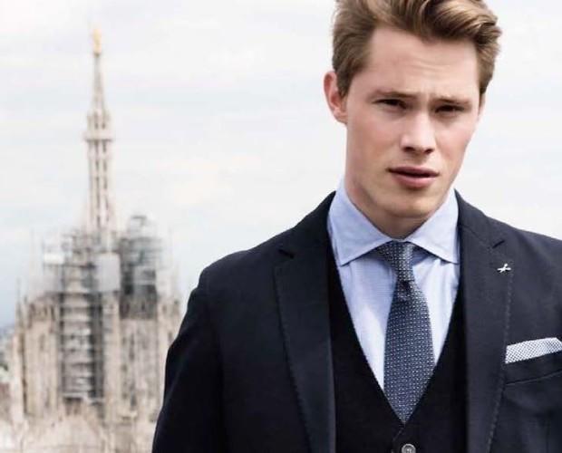 Abbigliamento uomo. Produzione Made in Italy