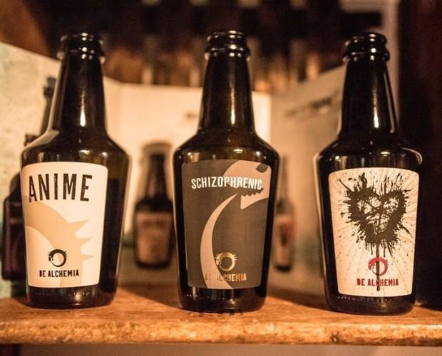 Le nostre birre. Prodotti di qualità, in eleganti bottiglie