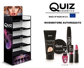 Quiz Cosmetic. Espositore Quiz Cosmetic makeup made in EU