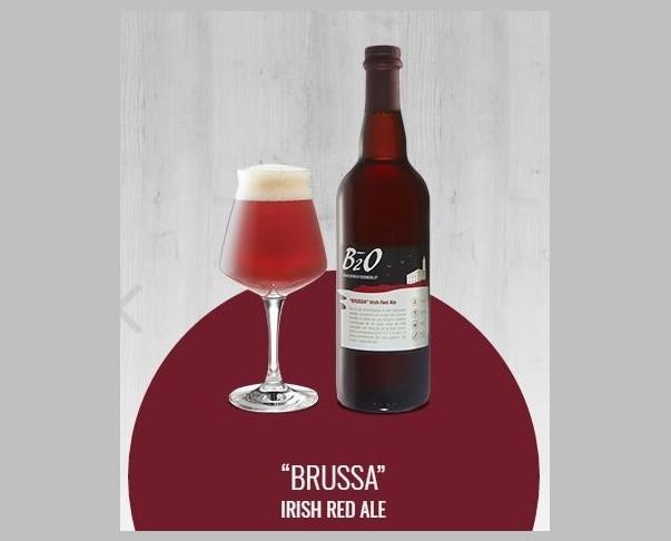 Brussa. Birra rossa in stile Irish Red Ale.