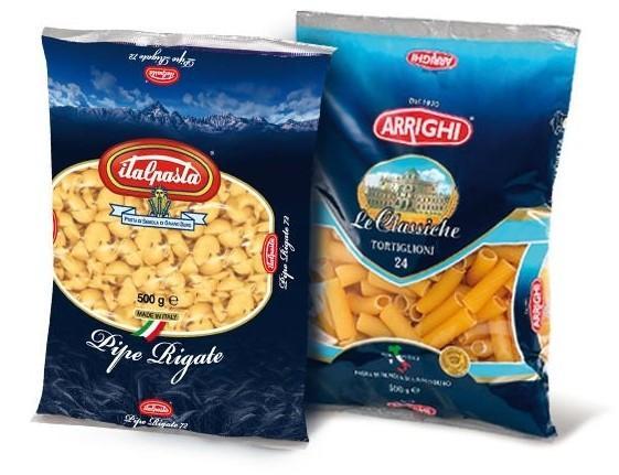La pasta. Materie prime di origine italiana