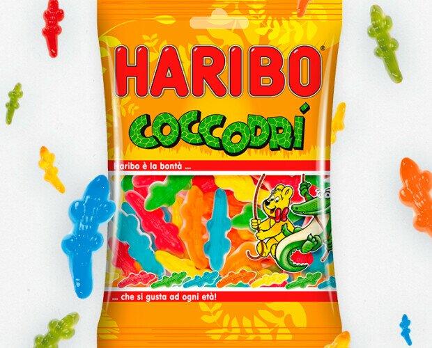 Haribo. Vendita di Caramelle Gommose Haribo in pratiche bustine da 100 gr,da 30 pezzi.