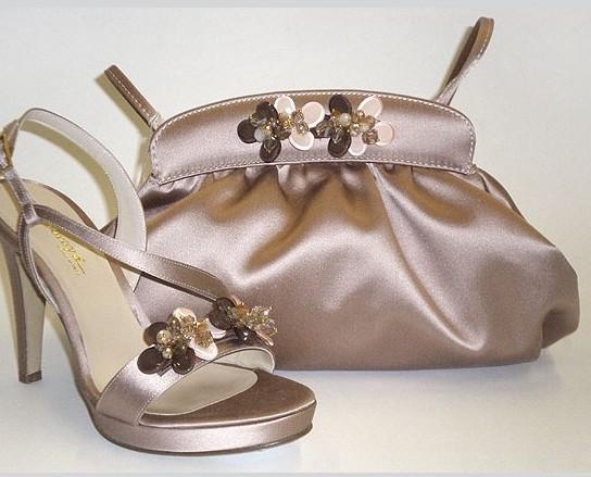 Produzione Made in Italy. Coordinati borse - scarpe