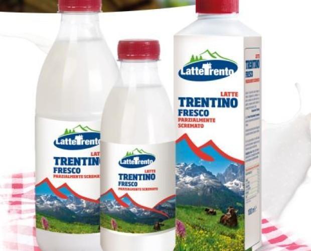 Latte fresco Trentino.