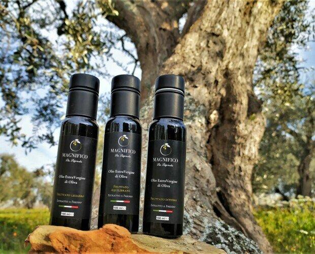 Campioncini olio EVO 100 ml. OLIO EVO CAMPIONCINI 3 x 100 ml