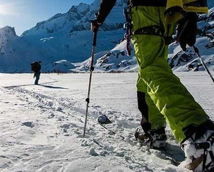 Calzature Sportive. Scarpe per gli sport di montagna.