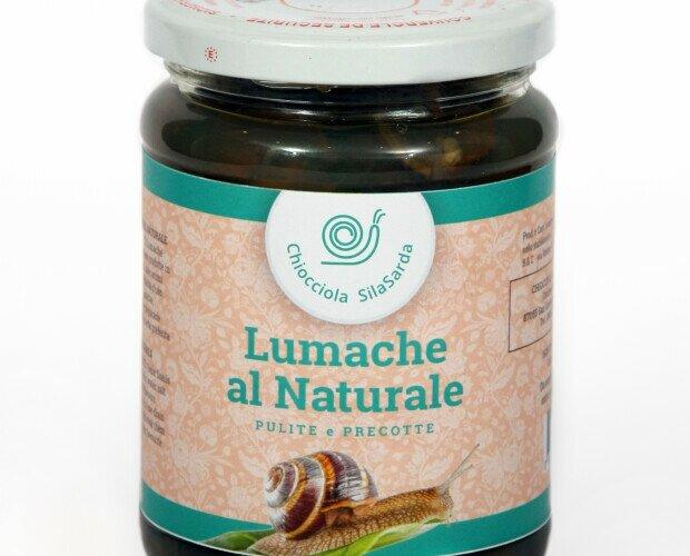 Lumache al Naturale. ingredienti : lumache helix sgusciate, acqua, sale, aromi naturali. PESO 350 g.