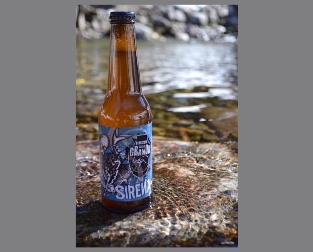 Sirena. Birra artigianale  in stile White IPA