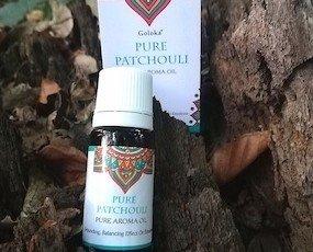 Goloka oil patchouli. Goloka olio aromatico patchouli