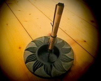 Coni Stick e Tealight. Porta Incenso per Coni Stick e Tealight Sole