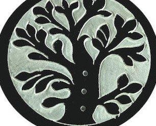 Porta Stick e Coni. Porta Incenso Stick e Coni Albero della Vita in pietra