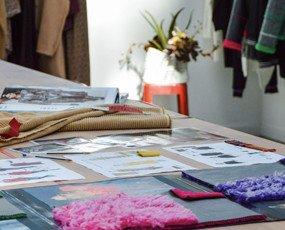 Studio stile. Pronto moda donna studio di stile in azienda.