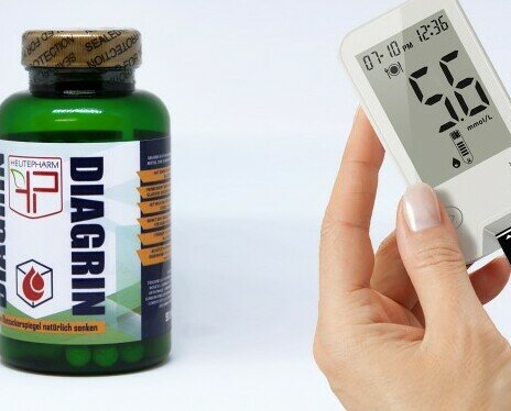 Prodotti paramedici.Integratore alimentare per i diabetici  riduce del glucosio nel sangue.