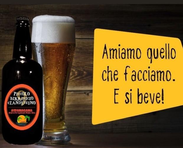 Birra di qualità. Prodotta artigianalmente.