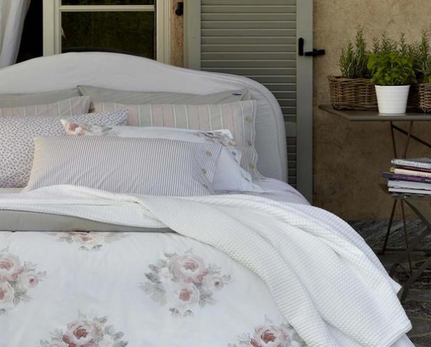 Completo letto. Fantasia floreale