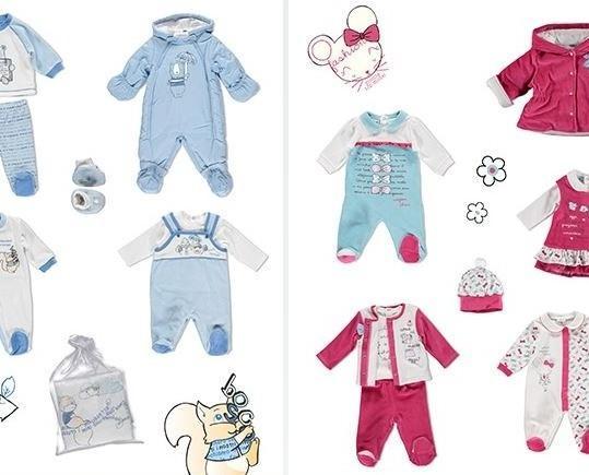 Abbigliamento per Neonati.Vestiti e felici