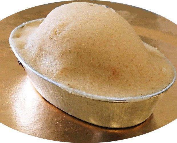PASTICCIOTTO LECCESE. pasticciotto leccese alla crema pasticcera crudo da 130 grammi SURGELATO