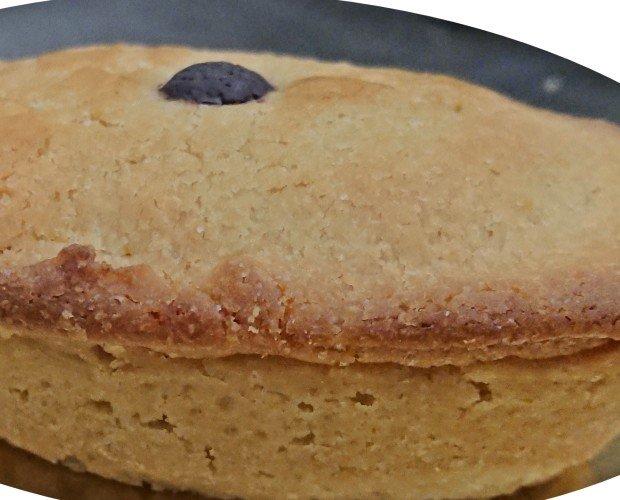 PASTICCIOTTO LECCESE. pasticciotto crema pasticcera e crema di nocciole cotto surgelato da 120 grammi