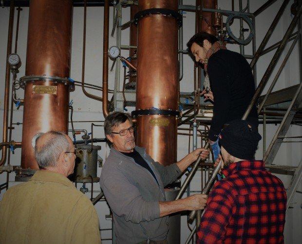 Distillazione. Distilliamo solo le migliori grappe valtlelinesi.