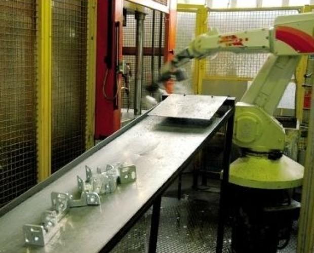 Produzione industriale. Fonderia metallica