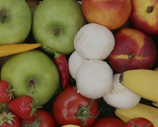 Frutta fresca. Prodotti di qualità