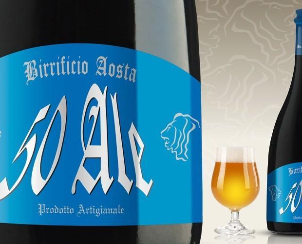 Birra Artigianale.50Ale speziata con scorze di agrumi e menta