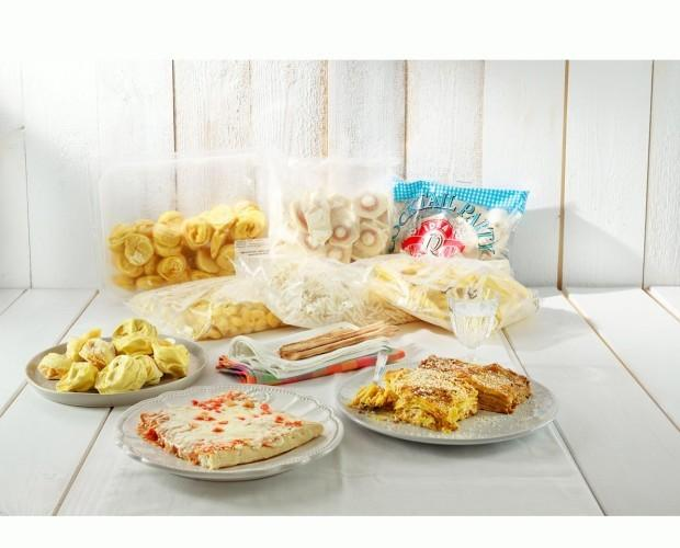 Prodotti pasticceria. Assortimento prodotti pasticceria  congelata