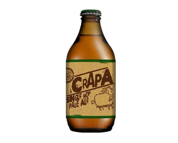 CrAPA. Birra artigianale in stile American Pale Ale;