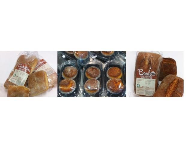 Pane senza Glutine. Prodotti certificati e garantiti.
