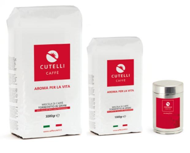 I nostri prodotti. Miscela in grani Caffè Cutelli